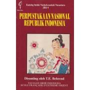 Perpustakaan Nasional Republik Indonesia: Katalog Induk Naskah-naskah Nusantara Jilid 4