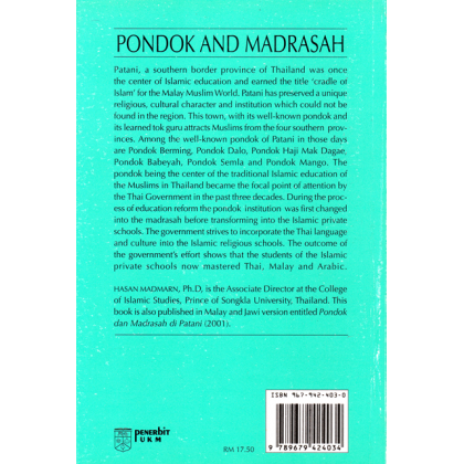 The Pondok & Madrasah in Patani
