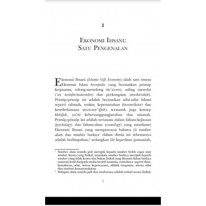 Ekonomi Ihsani: Satu Pengenalan