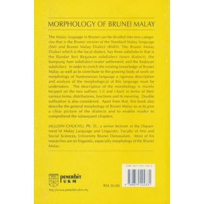 Morphology of Brunei Malay